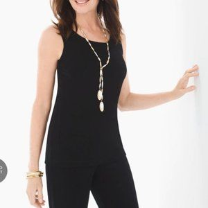 CHICO'S TRAVELERS NEW Essential Reversible Tank